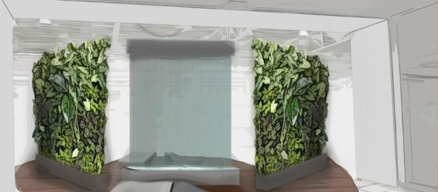Zielone oazy w galerii handlowej