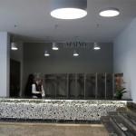 Szatnia w hallu głównym SPSK Nr 4 w Lublinie