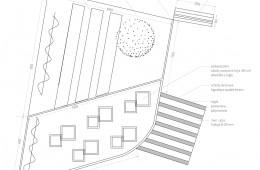 Ogród warzywny w formie tarasów