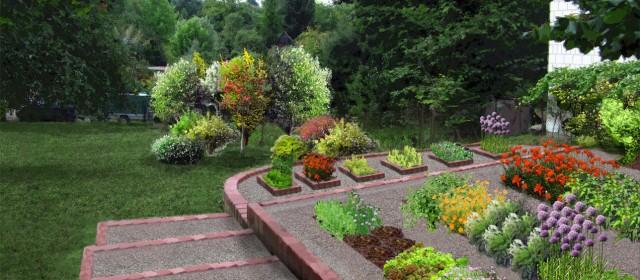 Ogród użytkowy w Konopnicy