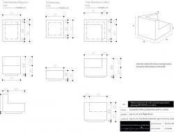 Schemat techniczny mebli drewnianych