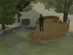 Wizualizacja drugiego poziomu tarasu widokowego