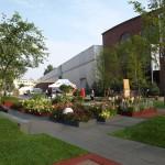 Ogród pokazowy przed Centrum Expo XXI