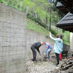 Justynka planuje prace na wysokościach