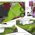 Wstępna koncepcja zagospodarowania ogrodu