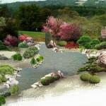 Wizualizacja ogrodu japońskiego