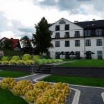 Wizualizacja terenu wokół hotelu