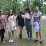 Nasz zespół w niepełnym składzie: Kasia, Ewa, Ula, Marcelina i Madzia