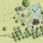 Rzut projektu zagospodarowania terenu