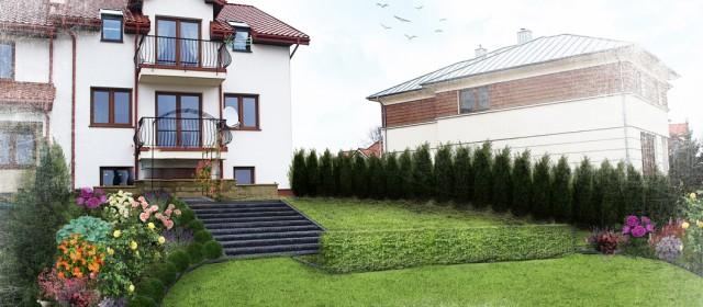 Ogród w Lublinie VI