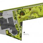 Koncepcja projektowa zagospodarowania terenu