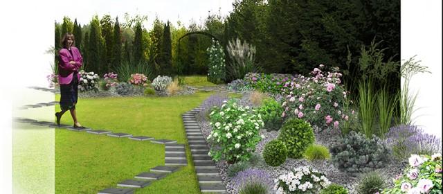Projekt rekompozycji ogrodu przy Hotelu Antoni*** w Tomaszowie Lubelskim