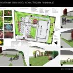 Końcowa koncepcja zagospodarowania terenu, wizualizacje i dobór gatunkowy
