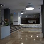 Strefa wejściowa w hallu głównym SPSK Nr 4 w Lublinie