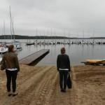 Przystań Krzyże nad Jeziorem Nidzkim