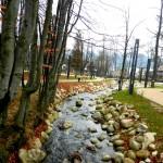 Zrewitalizowany park miejski w Zakopanem