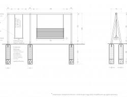 Schemat techniczny huśtawki