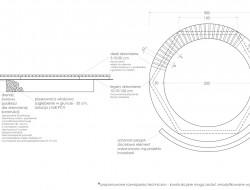 Schemat techniczny konstrukcji piaskownicy
