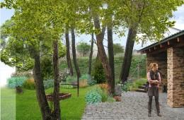 Projekt kompozycji roślinnych przy Siedlisku w Rybnicy